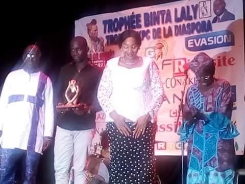 Banlieuz'art lauréat du trophée Binta Laly 2018 du meilleur chanteur.