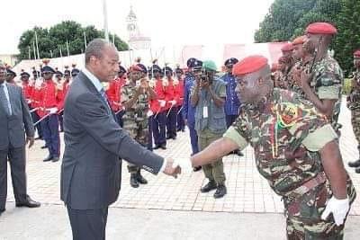 Plusieurs Généraux de l'armée et haut cadres nommés par le Président Alpha Condé