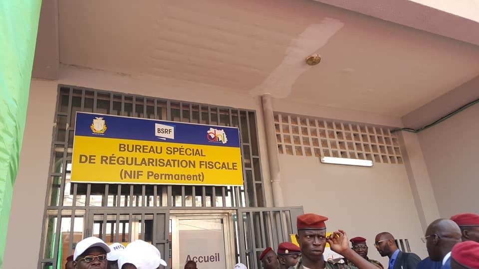 Direction Nationale Impôts   : Le Président Alpha Condé lance le numéro d'immatriculation