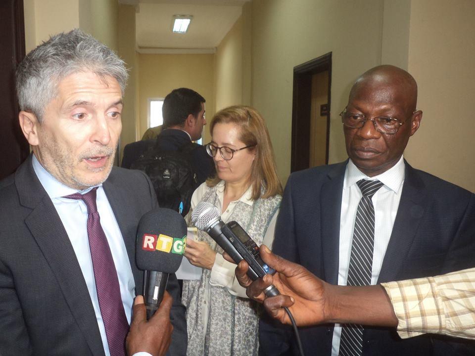 MATD : ce que le général Bouréma Condé et le ministre espagnol de l'Intérieur se sont dit…