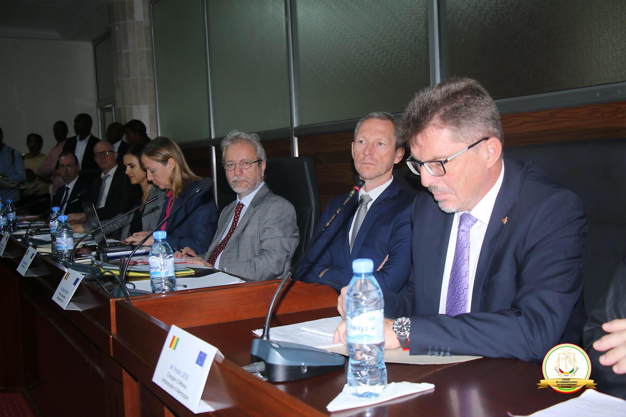Kassory Fofana préside la 3ème session du dialogue politique Guinée – UE
