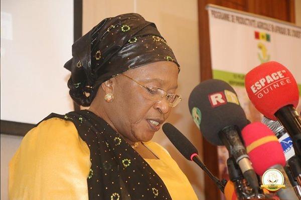 « L'agriculture guinéenne est sur la bonne voie » dixit la ministre de l'Agriculture, Mme Mariame Camara