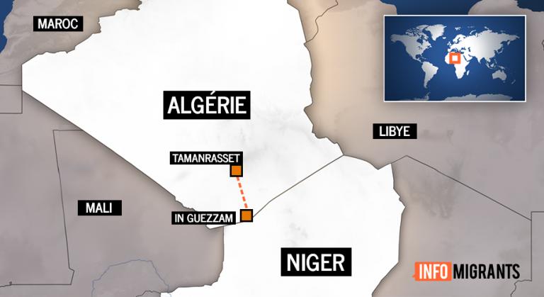 Une centaine de migrants «portés disparus» dans le sud de l'Algérie, le HCR se dit inquiet