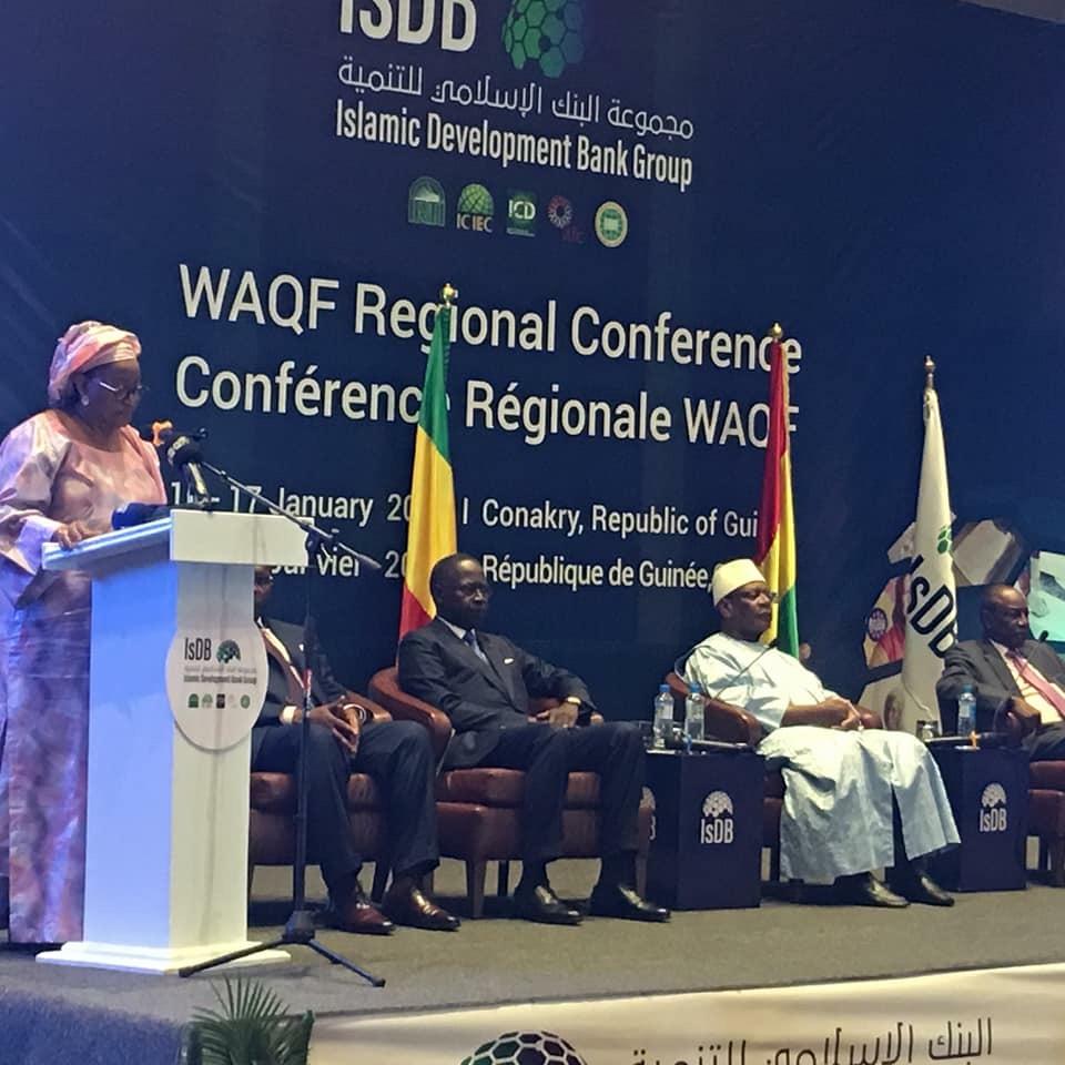 Lancement de la conférence régionale sur le concept WAQF en Guinée