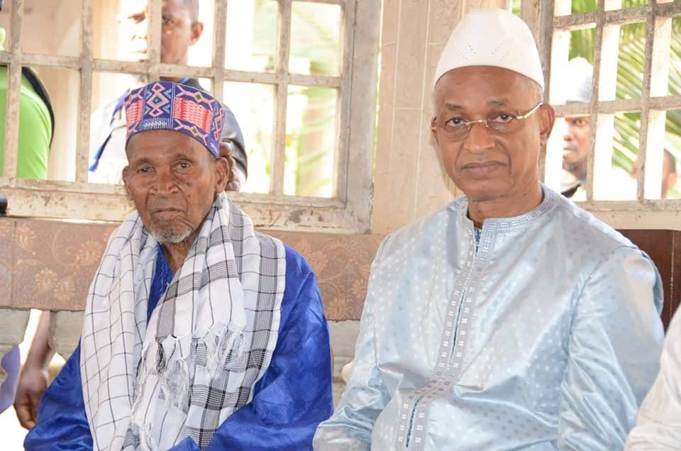 Cellou Dalein Diallo rend visite  à Elhadj Boubacar Biro Diallo