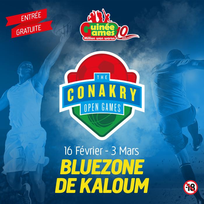 GUINÉE GAMES présente le Conakry Open Games 2019 !!