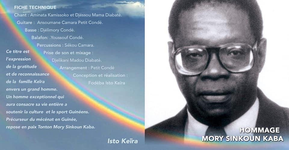 Feu Mory Seinkoun KABA : La philanthropie au service du Peuple.