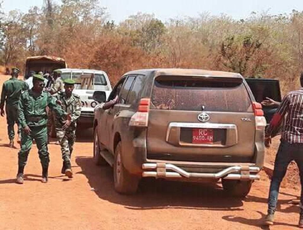 ''mon convoi arrêté par une unité militaire à Dinguiraye», Siaka Barry