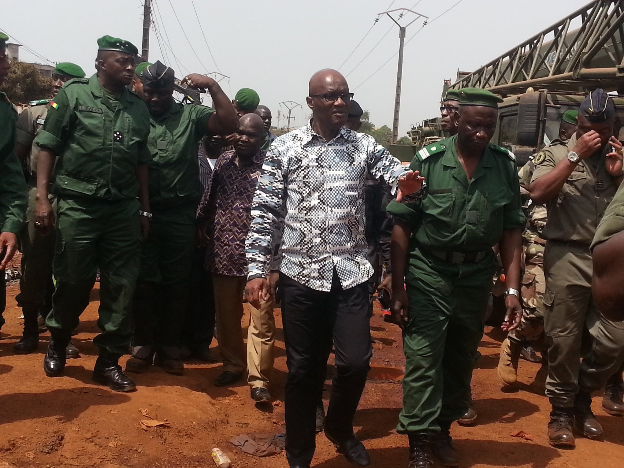 MVAT : Déguerpissement des occupants illégaux du centre Directionnel de Koloma, devenu une réalité
