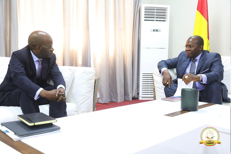 Vers une collaboration entre le gouvernement guinéen et la société financière internationale