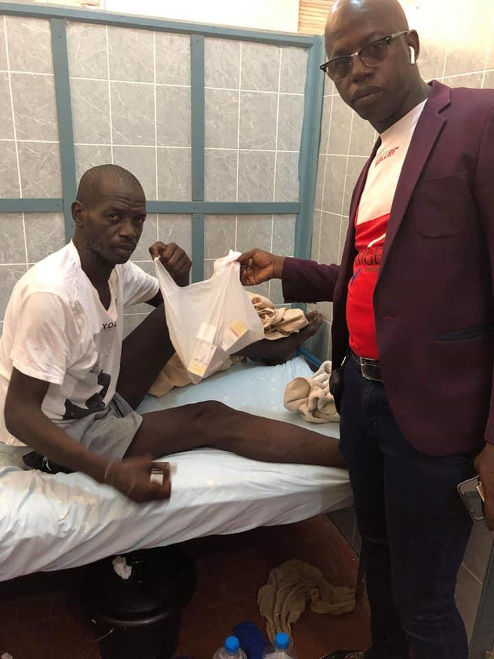 Maladie de l'ancien Footballeur, MAMADI KABA DIENG.