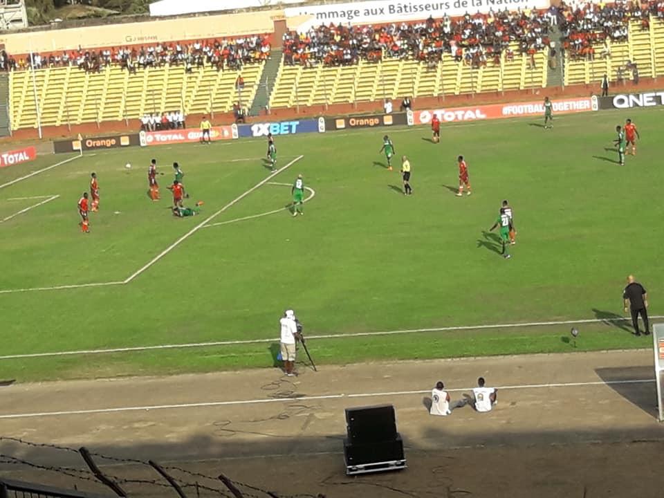 Football : le Horoya AC s'impose face au FC PLATINUM par le score de 2 buts à zéro