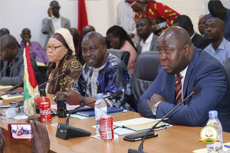 Le ministre Isamël Dioubaté souhaite…