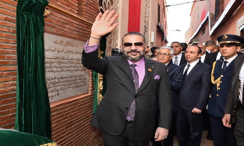 Intenses activités sociales du Roi du Maroc à Marrakech
