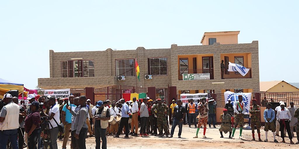 Boké: Le Président Alpha Condé inaugure la Chambre régionale de commerce
