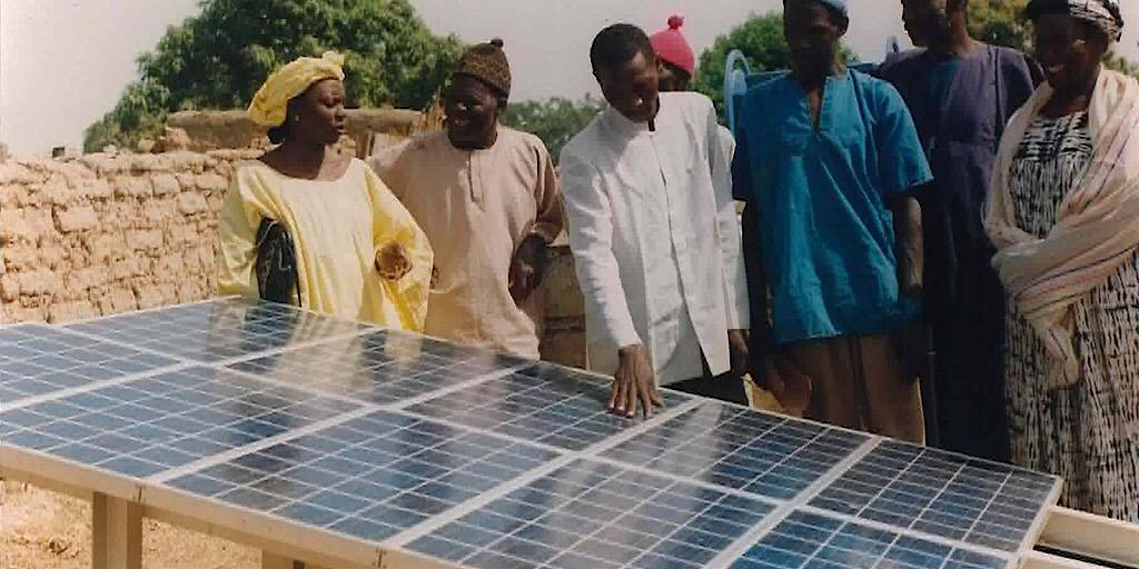 140 foyers communautaires bénéficient de l'Energie Solaire   à Gbéréyiré Baffila (Forécariah)