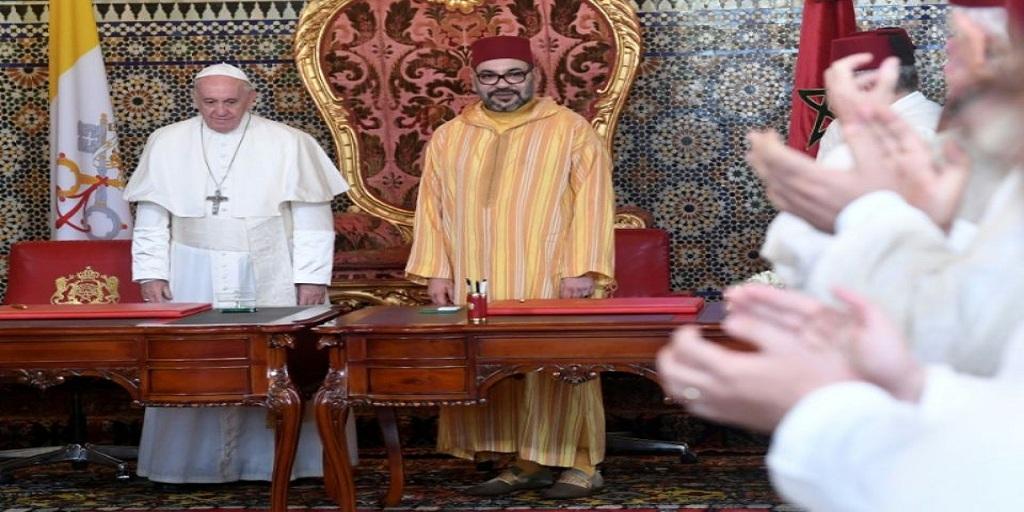 Le pape et Mohammed VI prônent la «coexistence pacifique» à Jerusalem