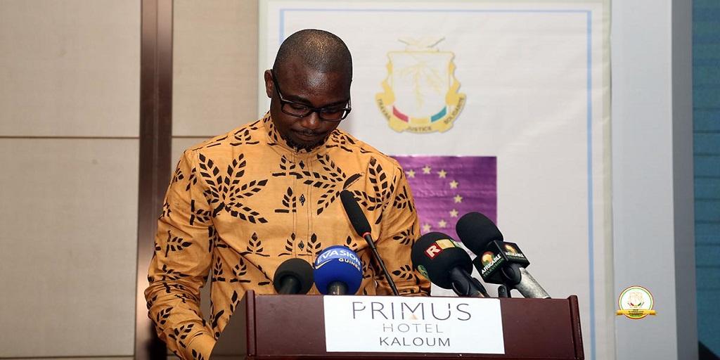 1ère Edition du salon des entrepreneurs de Guinée: Discours de monsieur le directeur général de l'AGUIPE, présentation de SADEN