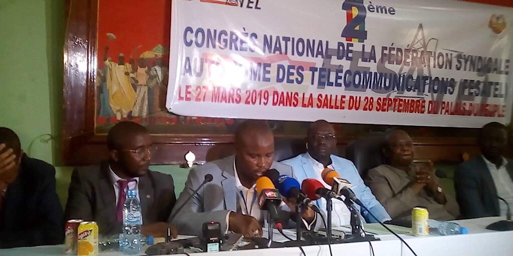 2e congrès de la Fédération Syndicale Autonome des Télécommunications: Abdoulaye Bayi reconduit à la tête de la FESATEL.