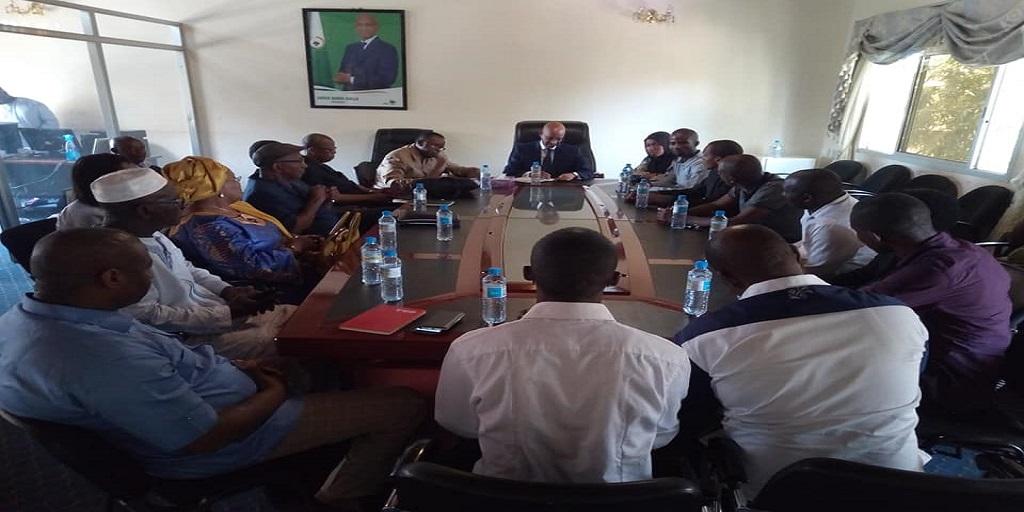 Une délégation du MODEL chez Cellou Dalein Diallo (UFDG)