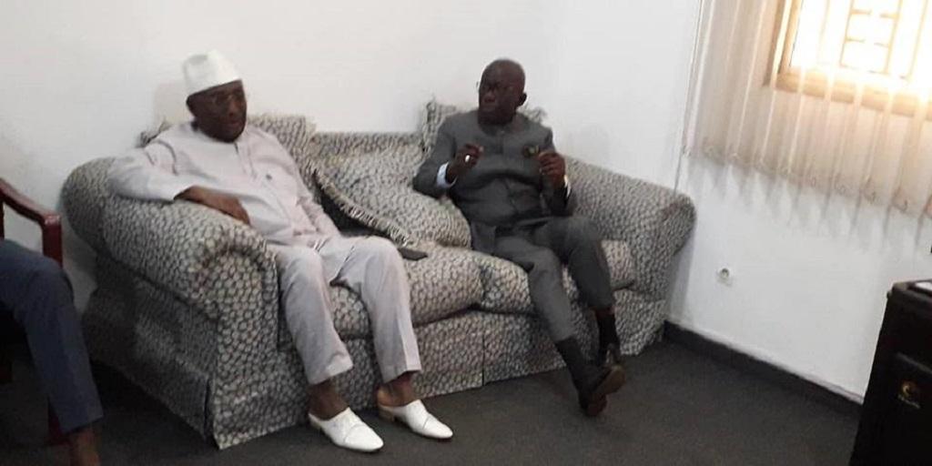 Le patron du RGD Maître Abdoul Kabèlè Camara rend une visite de courtoisie au président de l'UFR