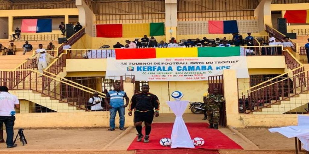 Labé : lancement du tournoi de football ''un jeune, un modèle'' doté du trophée Kerfalla Camara, KPC