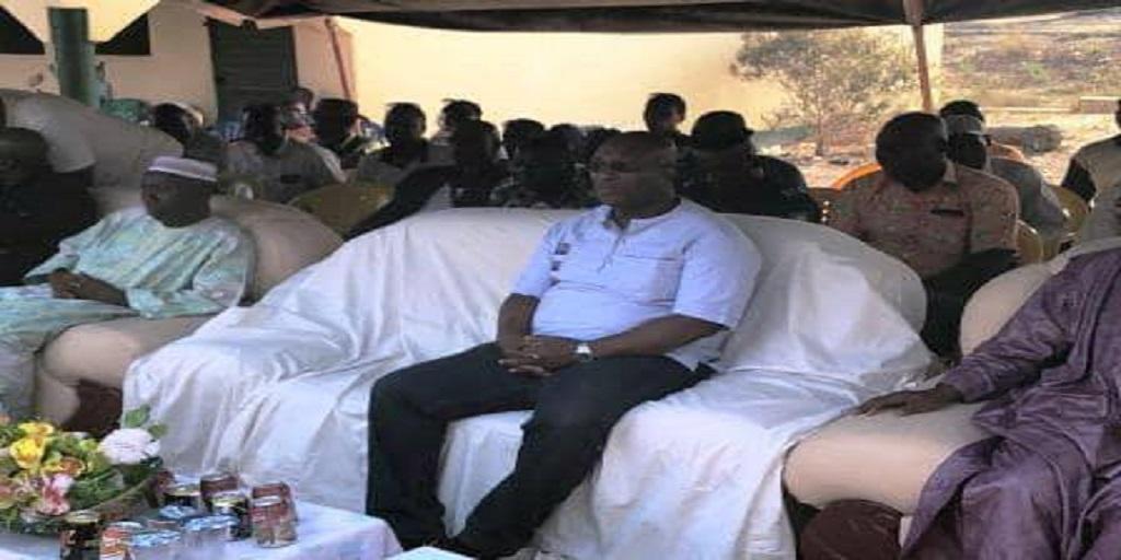 Développement rural : Le Ministre d'Etat Kiridi Bangoura soutient des femmes de Soumbouya