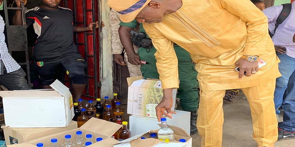 Colonel Tiegboro met un grappin à un réseau de vendeurs d'alcool frelaté