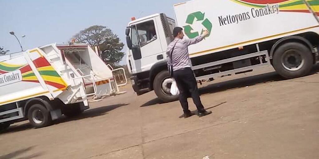 Coopération: la Turquie offre 28 camions dans le cadre de l'assainissement de Conakry.