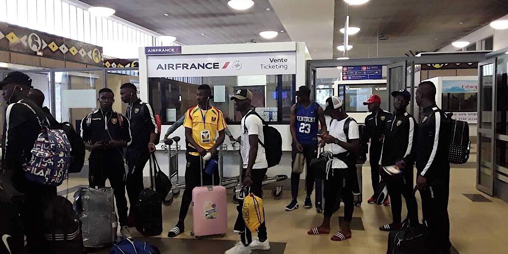 Info médias:  Le Syli espoir s'envole pour Dakar.