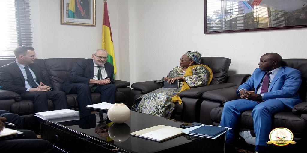 Le gouvernement guinéen et la SFI harmonisent les idées pour l'accompagnement du secteur privé