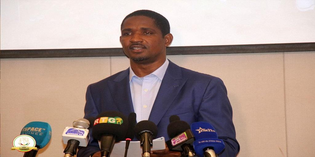 Mouctar Diallo décline les chiffres en termes d'acquis dans le secteur de la jeunesse et de l'emploi jeunes