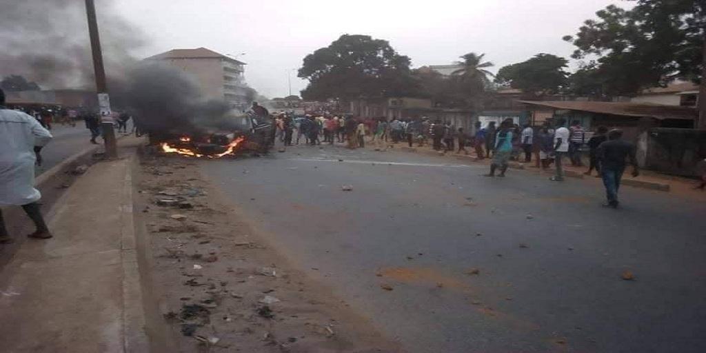 Matoto/Lansanayah: Un accident fait 2 morts et des dégâts matériels…