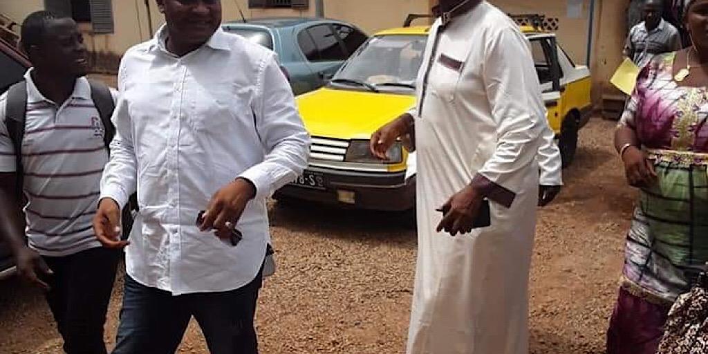 Lansana Camara enfin libre