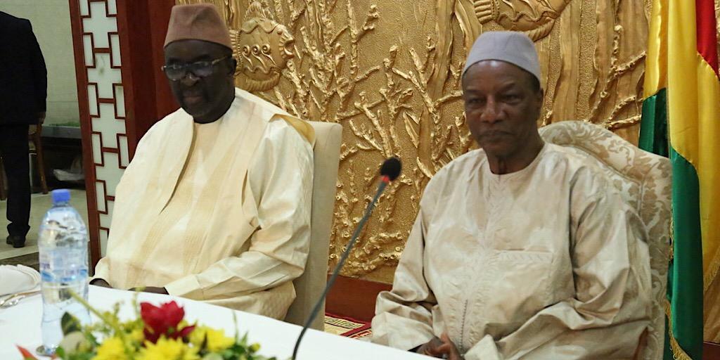 Sékhoutouréya : Le Président du Parlement de la CEDEAO chez le Pr. Alpha Condé
