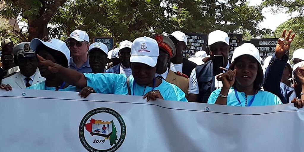 Fria a abrité la célébration officielle de la journée mondiale de lutte contre le Paludisme  couplée avec la distribution gratuite des moustiquaires imprégnées d'insecticide .