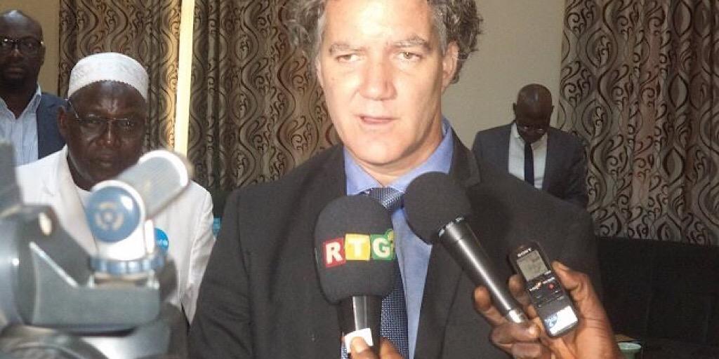 MATD : le Représentant par intérim de l'UNICEF reçu par le ministre Bouréma Condé