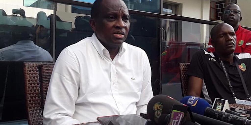 CAN des Cadets : Le président Antonio Souaré à l'hôtel des joueurs et à leur entraînement.