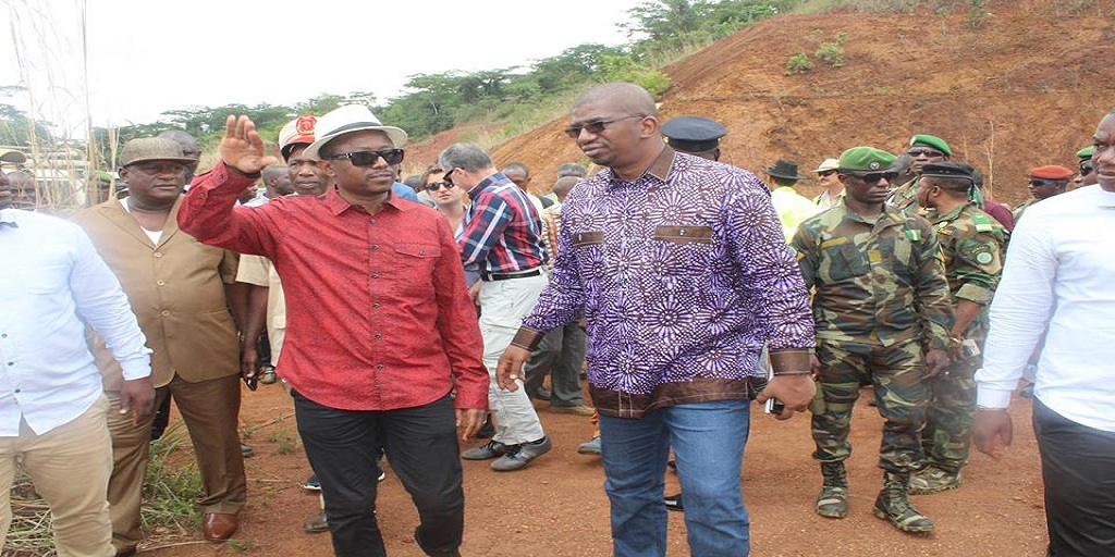 Visite à Zogota : Abdoulaye Magassouba et la société NIRON METALS PLC accueillis sur fond de messages de paix