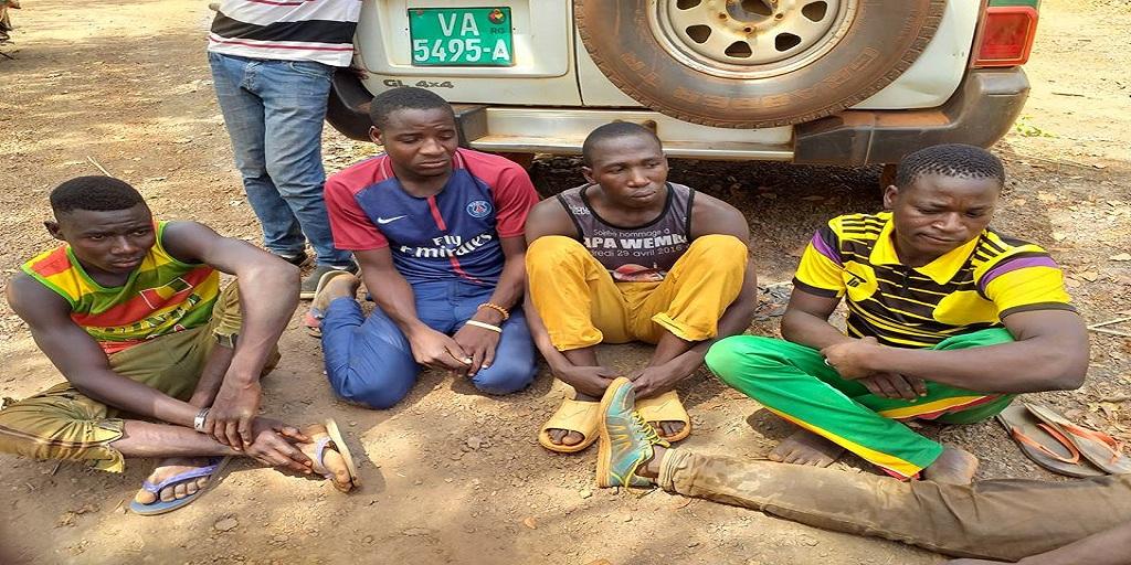 Guinée : Arrestation de 5 orpailleurs Burkinabés utilisant le cyanure à Dinguiraye