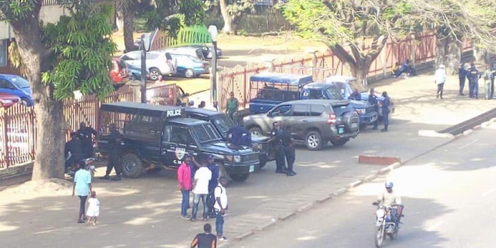 Le président du BL arrêté à Conakry