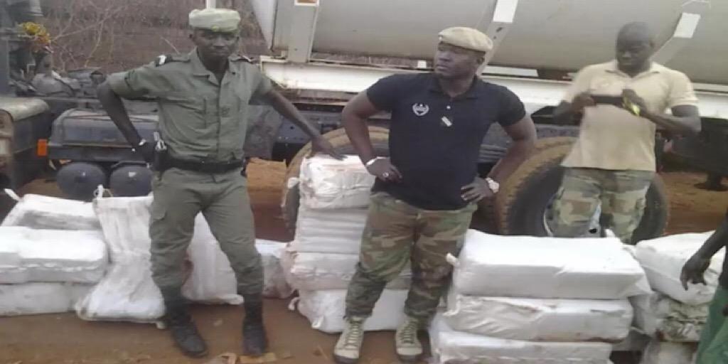 Tambacounda : Un camion en provenance de la Guinée arrêté avec près d'une tonne de drogue