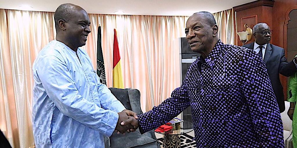 Coopération bilatérale : Le ministre des AE de la Sierra Leone Chez le Chef de l'Etat