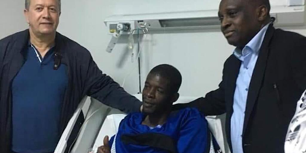Rabat : Antonio Souaré au chevet de Khadim N'Diaye