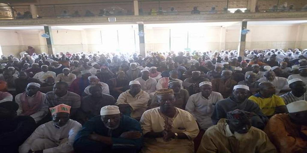 Conakry : cérémonie de lecture du saint coran dans la commune de Matoto
