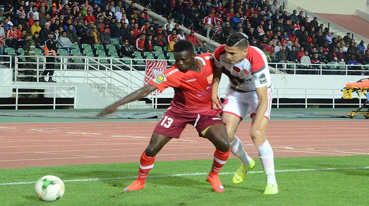 Match retour des quarts de finale de la Ligue des Champions Africains des Clubs CAF : Le HOROYA AC coule à Rabat face au Marocains du Wydad Athletic Club de Casablanca, 5-0