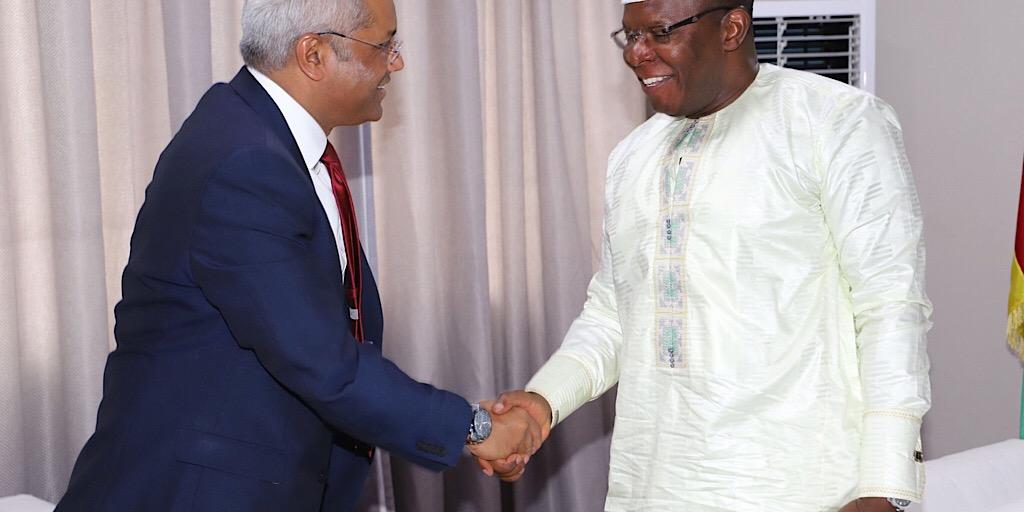 Guinée: Un représentant de Vodafone chez Kassory Fofana
