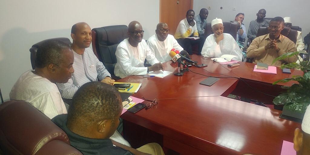 MVAT : Rencontre entre les investisseurs guinéens et le Ministre de la Ville et de l'Aménagement du territoire au sujet du Centre Directionnel de Koloma