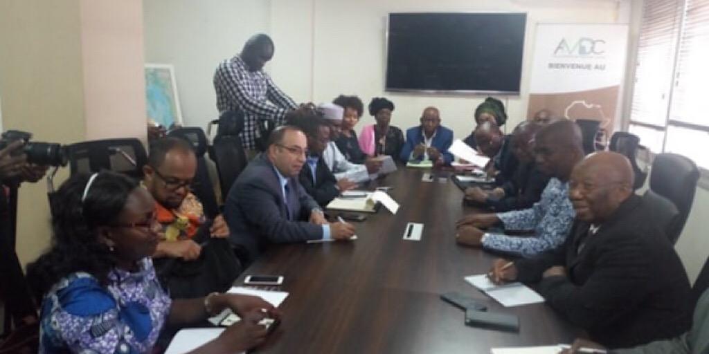 Transfert du CADEM à la Guinée : Une mission de l'Union Africaine séjourne à Conakry