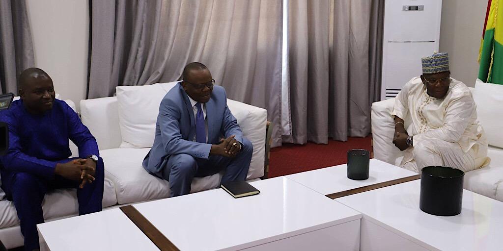 FEUILLE D'AUDIENCE : LE PREMIER MINISTRE RECOIT LE DIRECTEUR GENERAL DE L'UNION AFRICAINE DES RADIODIFFUSIONS ET TELEVISIONS